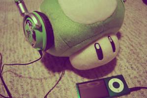 Even mushrooms listen to music by Bieberismycheerio