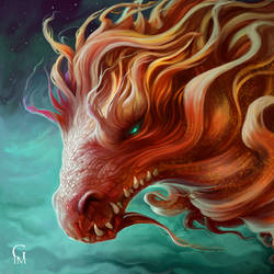 Red Dragon by GloriaPM