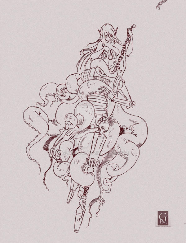 Mermaid Sketches 2 by GloriaPM on DeviantArt