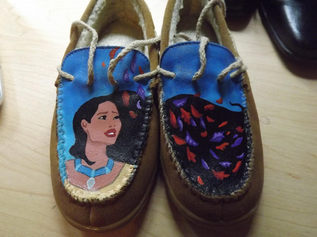 Girls' Pocahontas Moccasins by Serene22