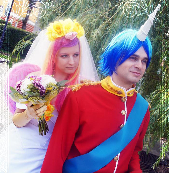 Princess Cadence and Shining Armor - Wedding day by facja on ...