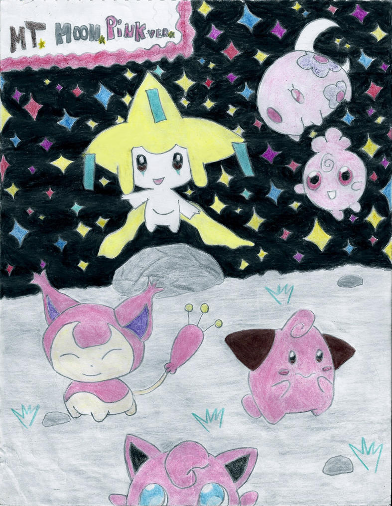 Mt. Moon Pink ver. by andres19989