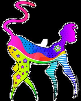 Paw Pop Art Kitty