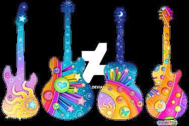 Pop Art Guitars