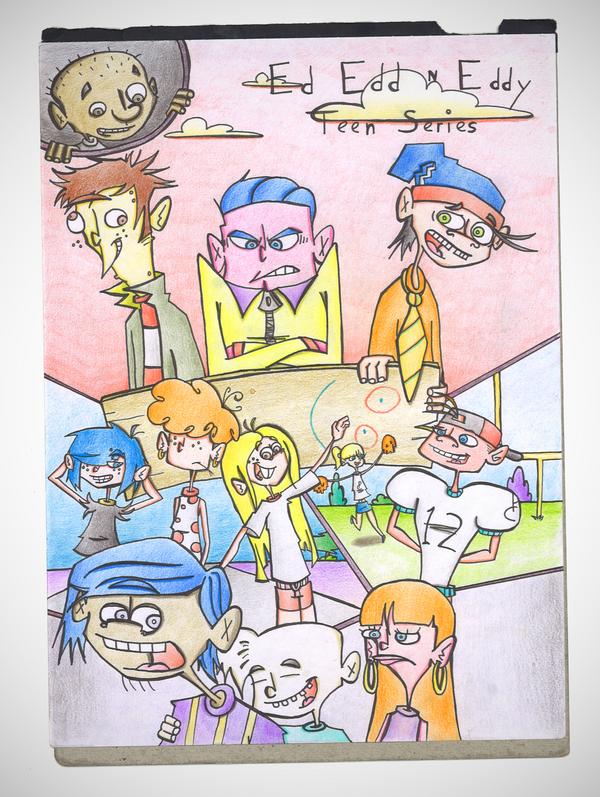 Ed, Edd n Eddy: Teen Series by mayr1994