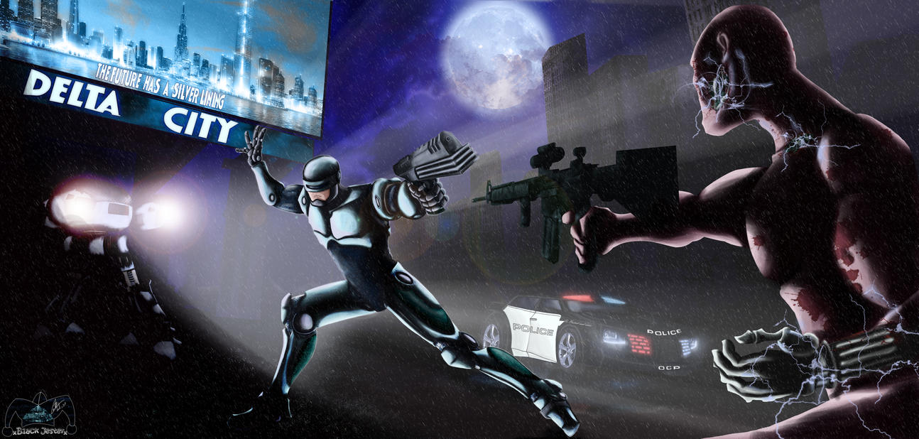 Robocop against terminator 3