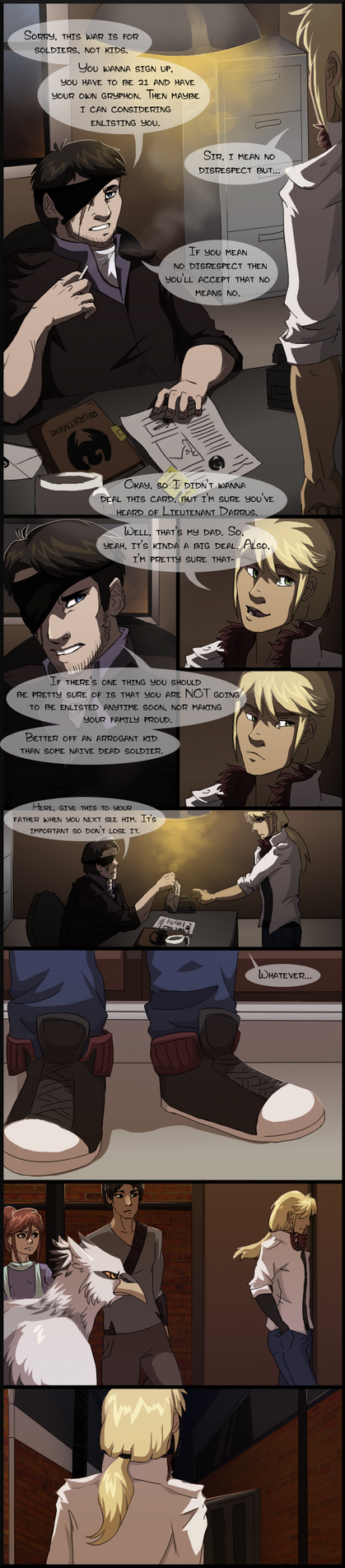 WCOCT: Audition page 1 by Zolarise