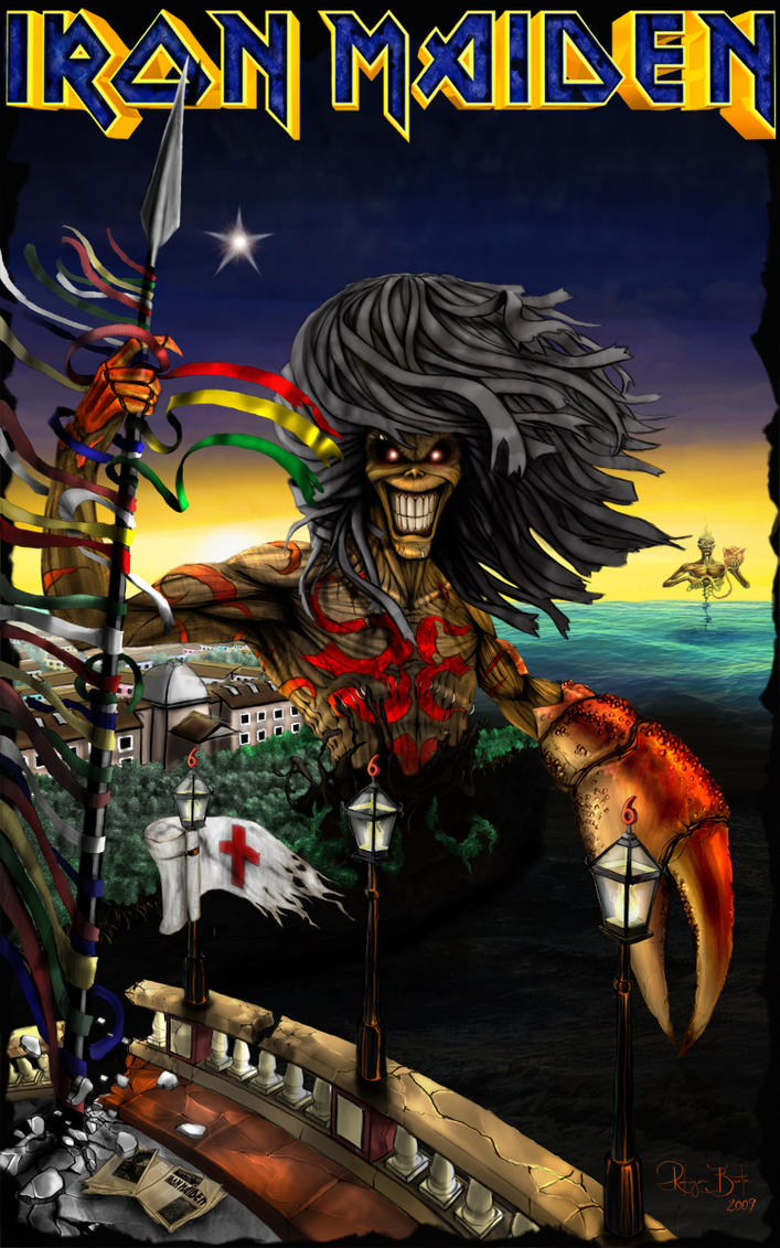 IRON MAIDEN RECIFE by Diguera