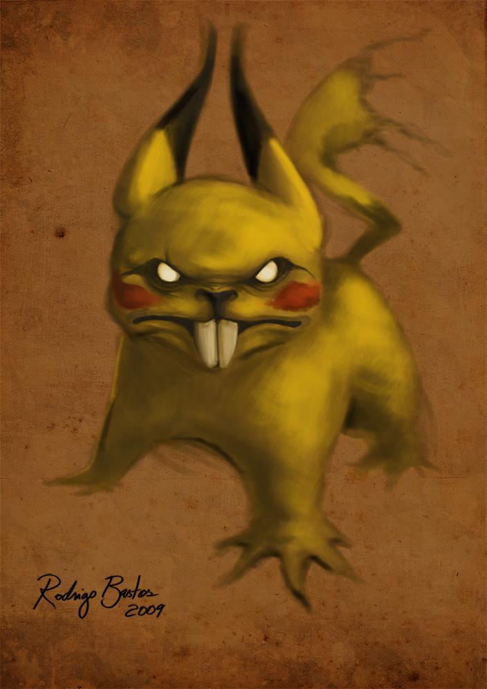 pikachu by Diguera
