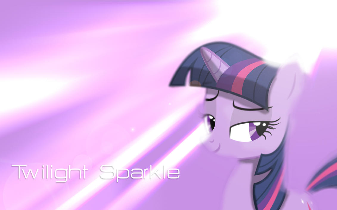 Twilight Sparkle Wallpaper by Woodyz611