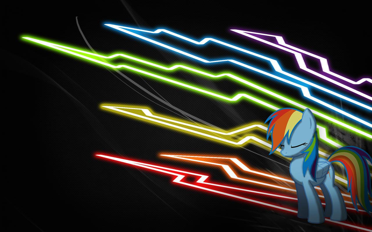 Rainbow Dash Wallpaper 3 by Woodyz611