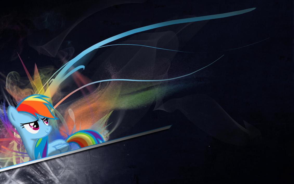 Rainbow Dash Wallpaper 4 by Woodyz611