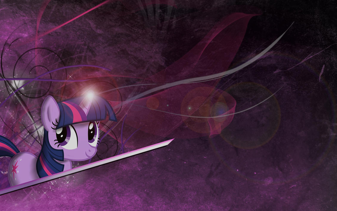Twilight Sparkle Wallpaper 2 by Woodyz611