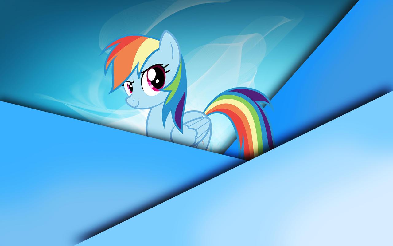 Rainbow Dash Wallpaper 5 by Woodyz611
