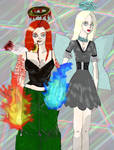 Angels of Fire and Ice