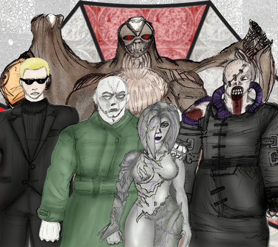 Tyrant Family Portrait by Shakahnna