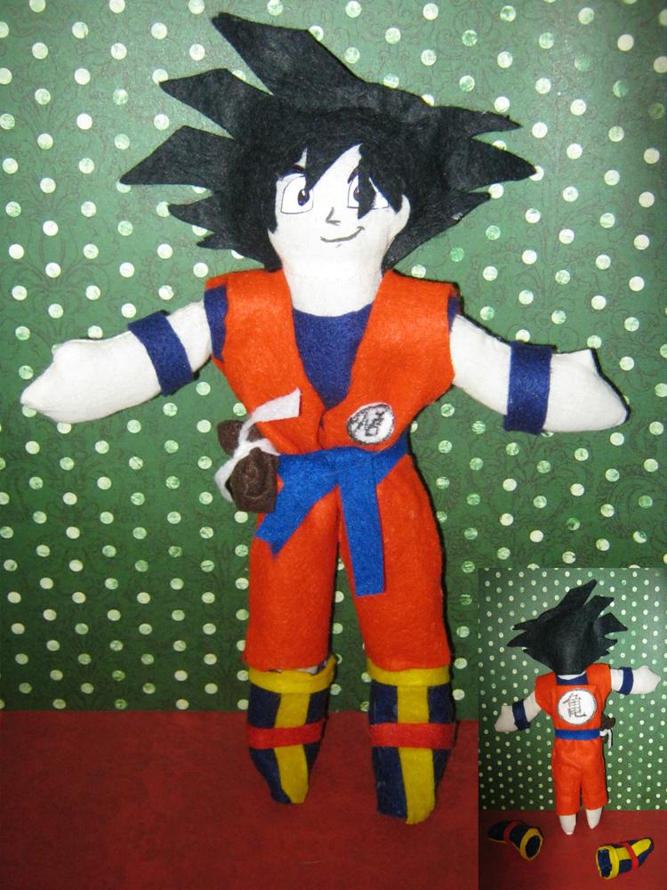 Goku Plushie by Shakahnna