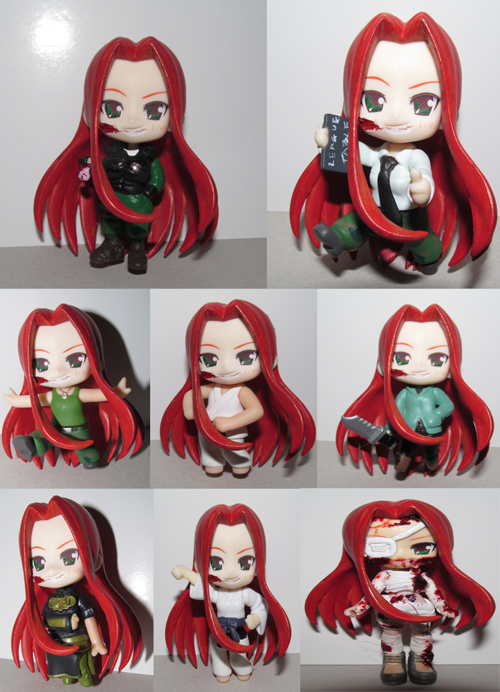 Custom Chibi - REOC - Shak by Shakahnna