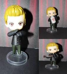Custom Chibi - RE4 - Wesker