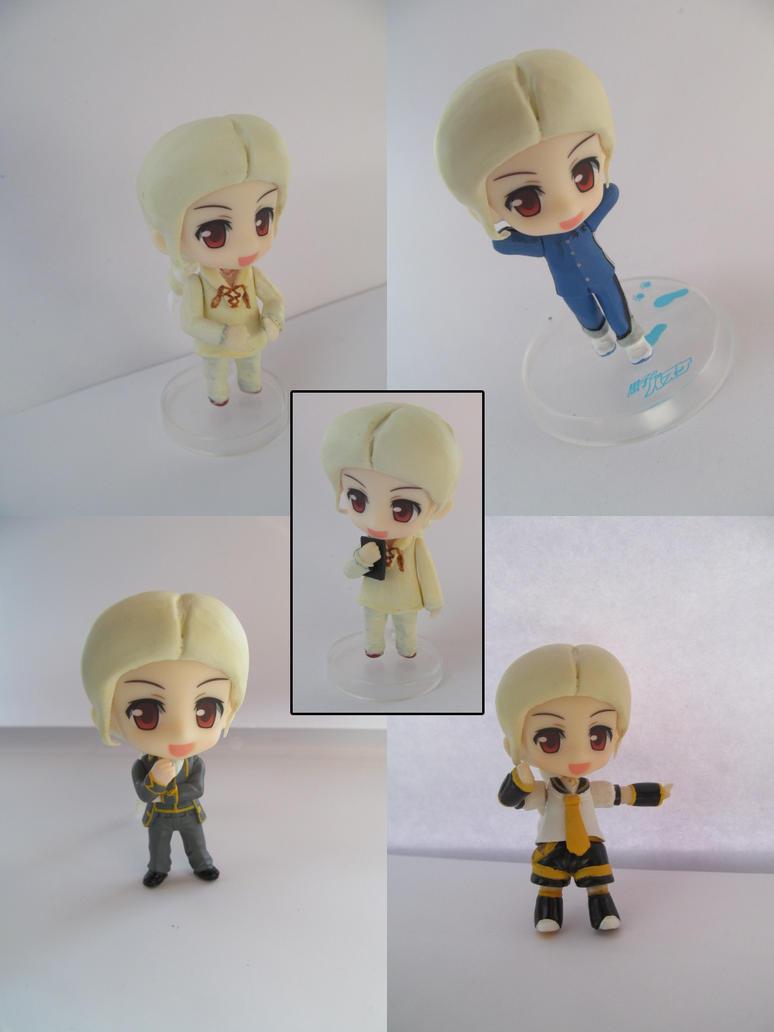 Birthday Mori 2014 - Nendoroid Petite - HG - Athos by Shakahnna