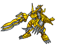 Shoutmon DX Sprite by MasterKimera