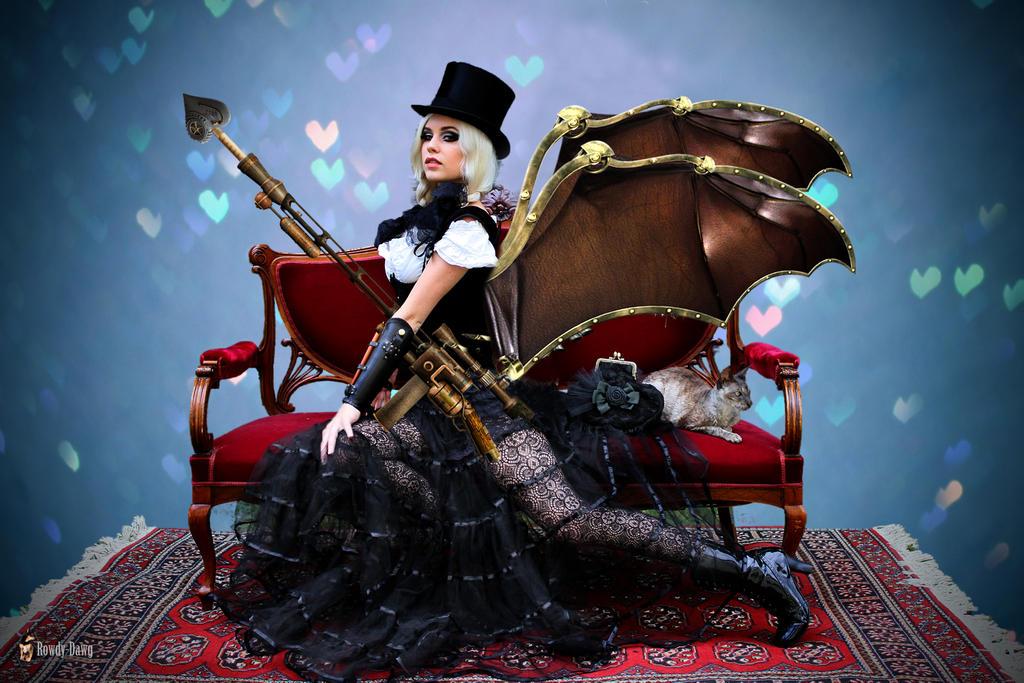 Steampunk Cupid by Rowdy-Dawg