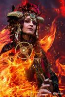 Fire Sorceress by Rowdy-Dawg