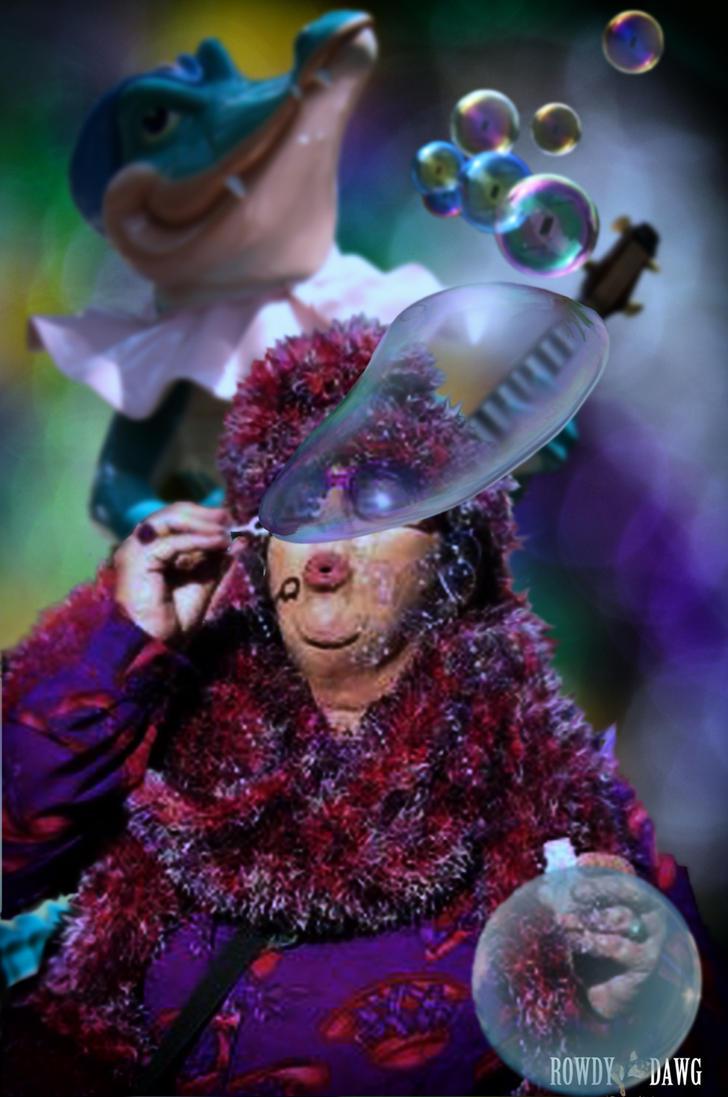 Mardi Gras Bubbles by Rowdy-Dawg