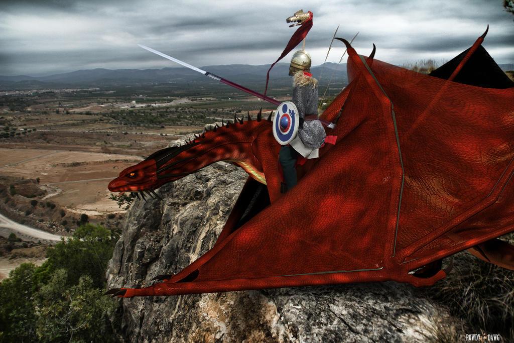 Dragon Watch Post by Rowdy-Dawg