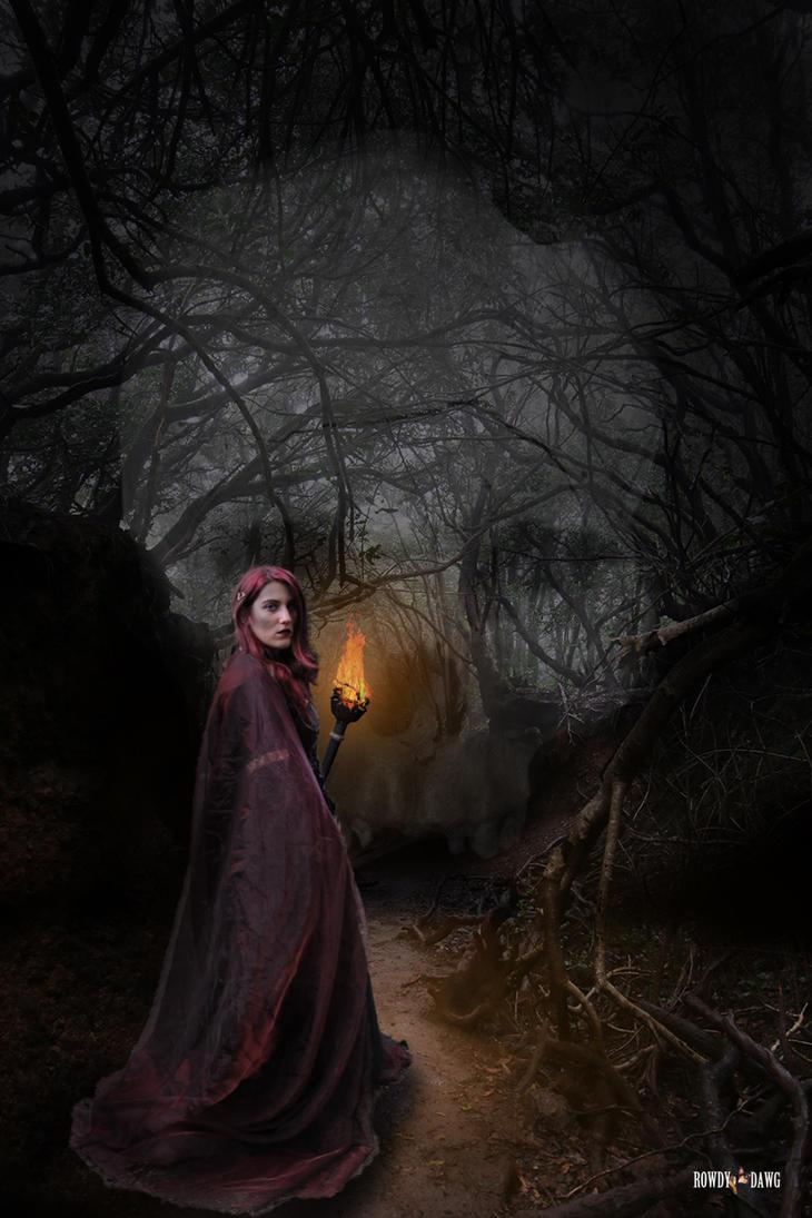 Dark Woods Witch by Rowdy-Dawg