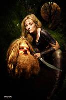 Giant Slayer Elf by Rowdy-Dawg