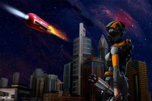 Futuristic Retro by Rowdy-Dawg