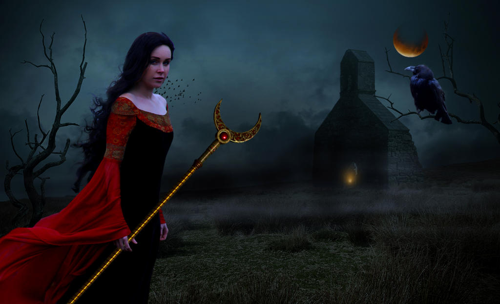 Blood Moon Priestess
