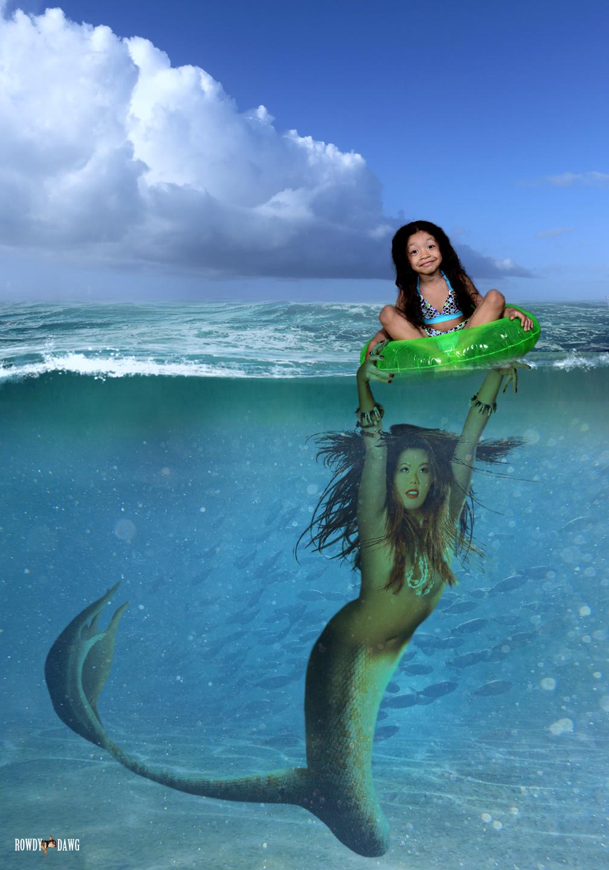 Mermaid Powered Float Ride