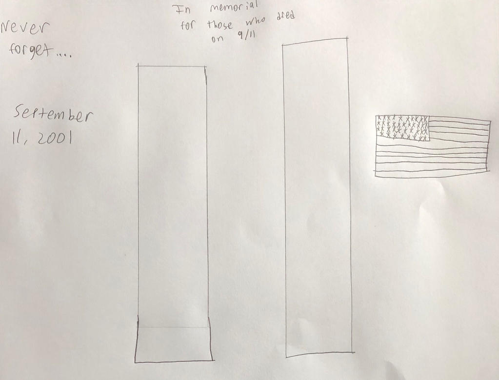 9/11 tribute  by DINOTASIA123