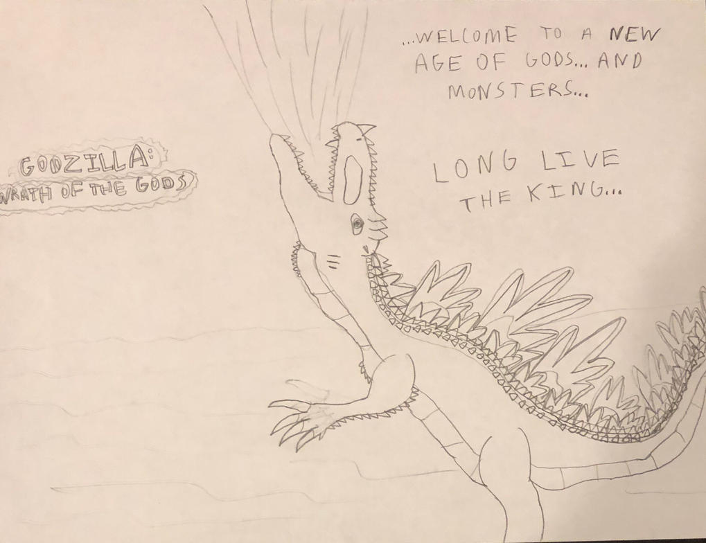 Godzilla: Wrath of The Gods teaser by DINOTASIA123