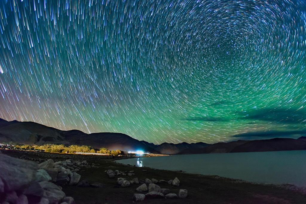 Magical nights at pangong lake by nimitnigam on deviantart