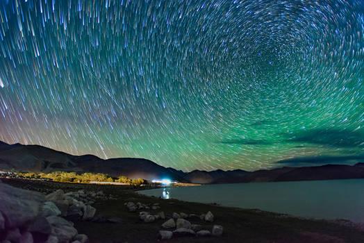 Magical Nights at Pangong Lake