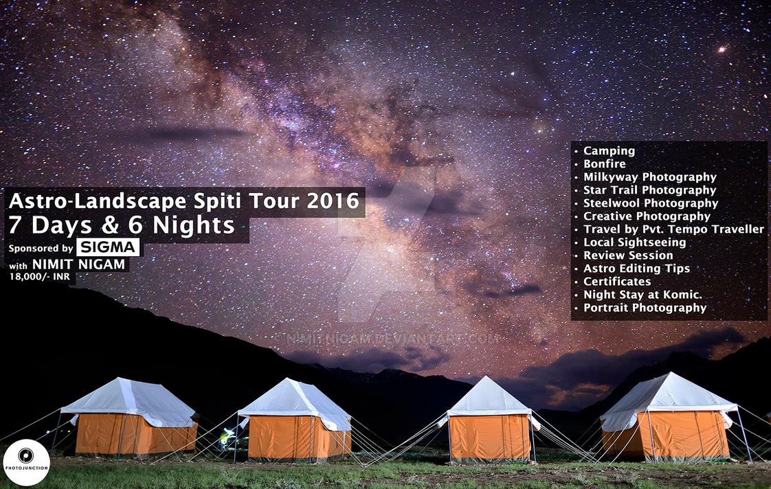 Astro-Landscape Spiti Tour 2016 sponsored by Sigma by nimitnigam