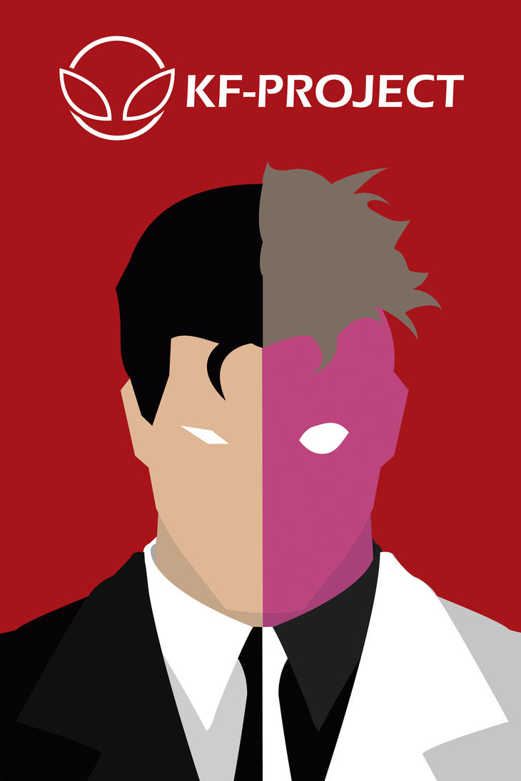 Two face minimalist by kf project on deviantart for Minimal art face