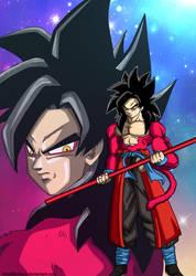 Goku Xeno Ssj4 Poster by keikuro