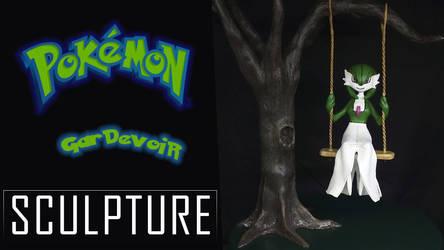 Pokemon Gardevoir Sculpture