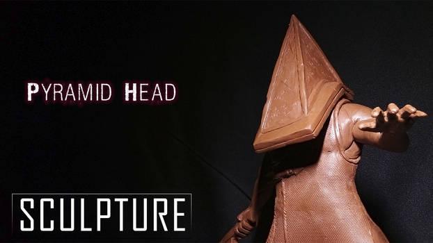Pyramid Head Sculpture