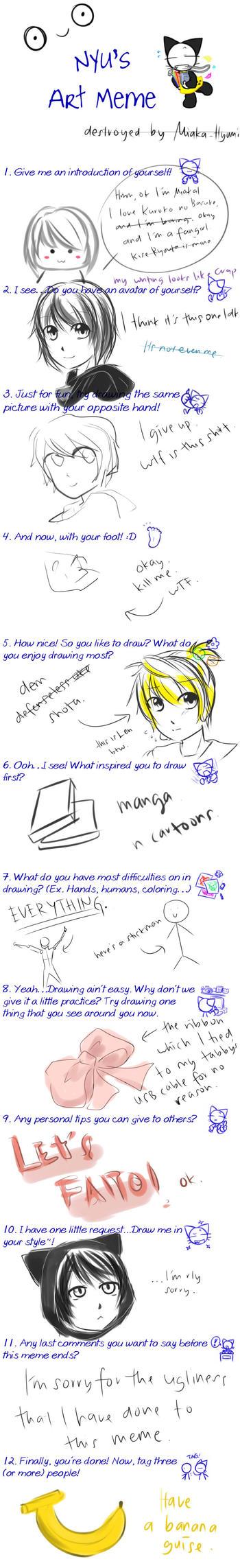 Art Meme by Miaka-Hyumi