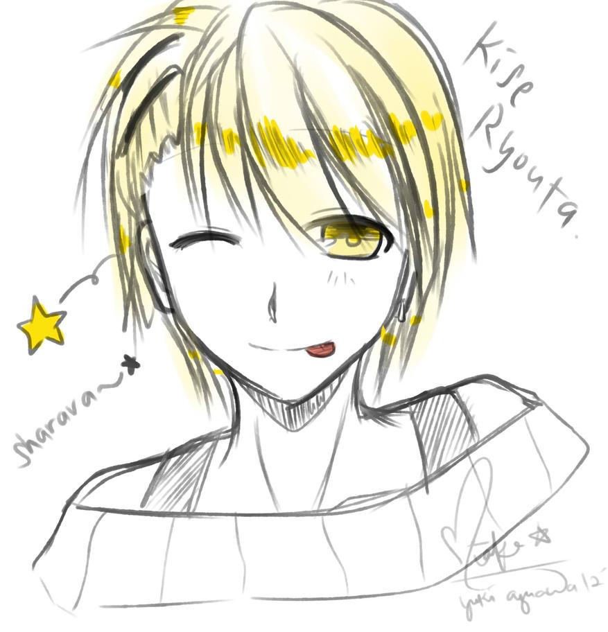 Kise Ryouta [Doodle] by Miaka-Hyumi