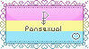 I am Pansexual Stamp by faetherflight