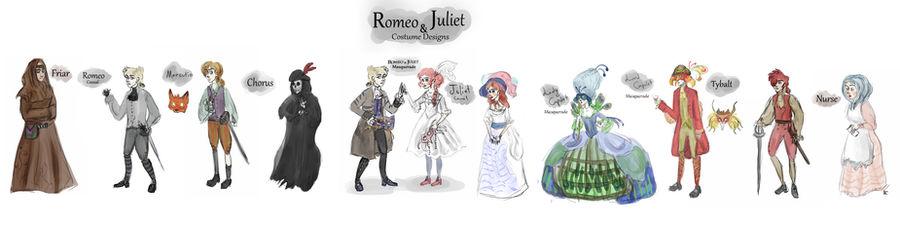 Romeo and Juliet Costume Designs