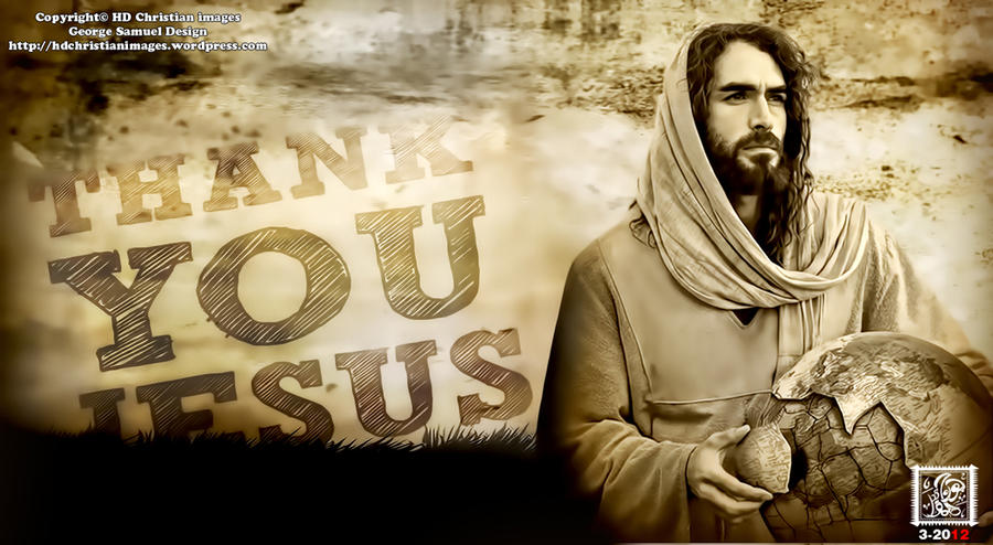 Thanks U Jesus By HDChristianimages