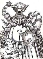 BOSS BATTLE! Area 3 Boss - Alien Gate by BaconMcShig