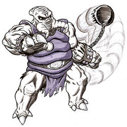 BOSS BATTLE - Level 6 Boss - Esoomian Skiff Guard